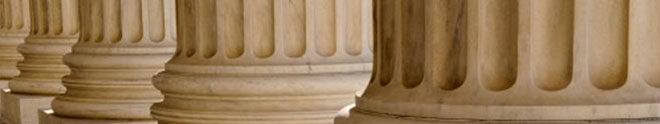 Pillars of legal building